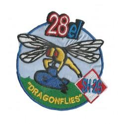 Naszywka 28el Dragonflies sh-26