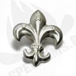 Lilijka srebrna ZHP na zatrzask