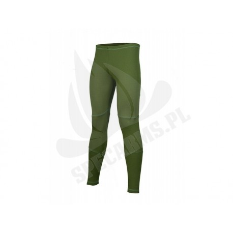COORE ciepłe getry termoaktywne OLIVE GREEN