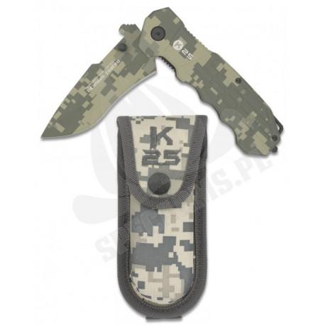 Nóż Składany Taktyczny RUI / K25 19220