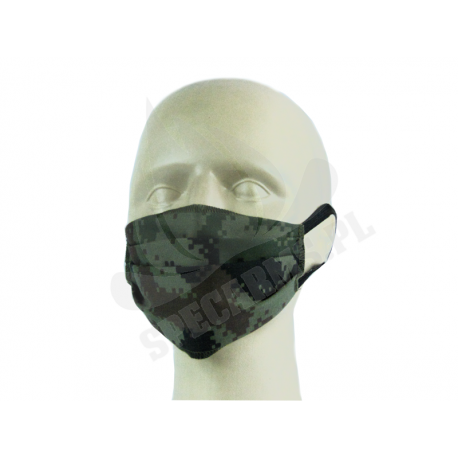 Maska maseczka bawełniana na twarz PL Digital