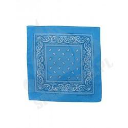 Chusta bandana 55x55 Niebieska