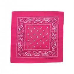 Chusta bandana 55x55 Różowa