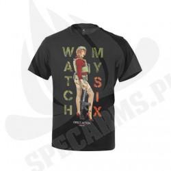 T-Shirt Watch My Six Czarny