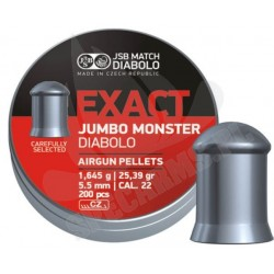 Śrut JSB Exact Jumbo Monster 5.52mm 200szt