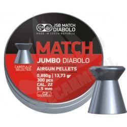 Śrut JSB Diabolo Jumbo Match 5.5mm 300szt