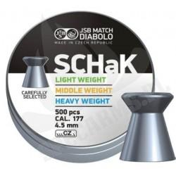 Śrut JSB Diabolo SCHaK 4.5mm 500szt