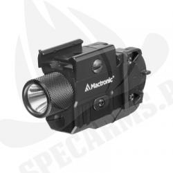 Latarka taktyczna Mactronic T-Force LSR 380lm laser zestaw