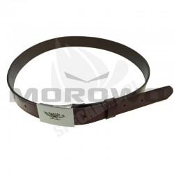 Pas Skórzany Haasta Premium 38mm Długość 100-140cm Brązowy