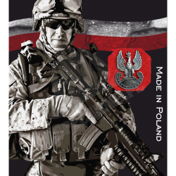 Znaczek Metalowy Haasta - Orzeł Militarny